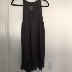 Dark grey tunic- Torrid size 1